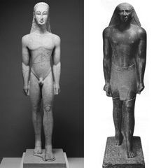 Image: kouros and Mentemhet